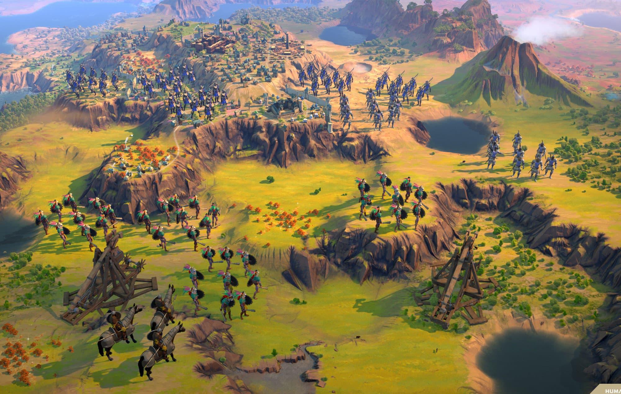 Humankind Геймплей Скриншоты