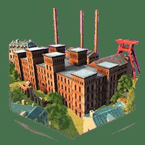 Коксохимический завод humankind
