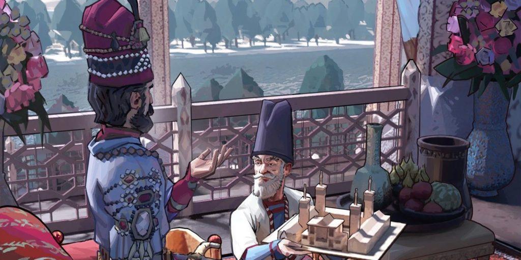 Культура Персов в Индустриальную эпоху в humankind