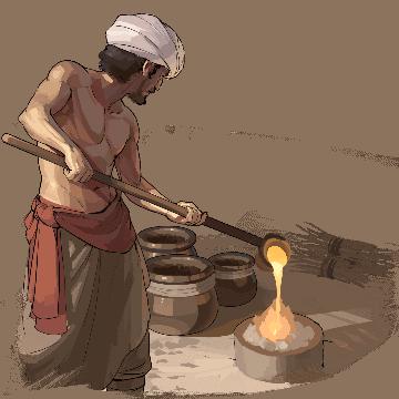 Обработка бронзы humankind