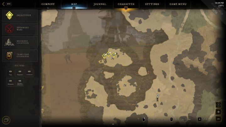 карта new world