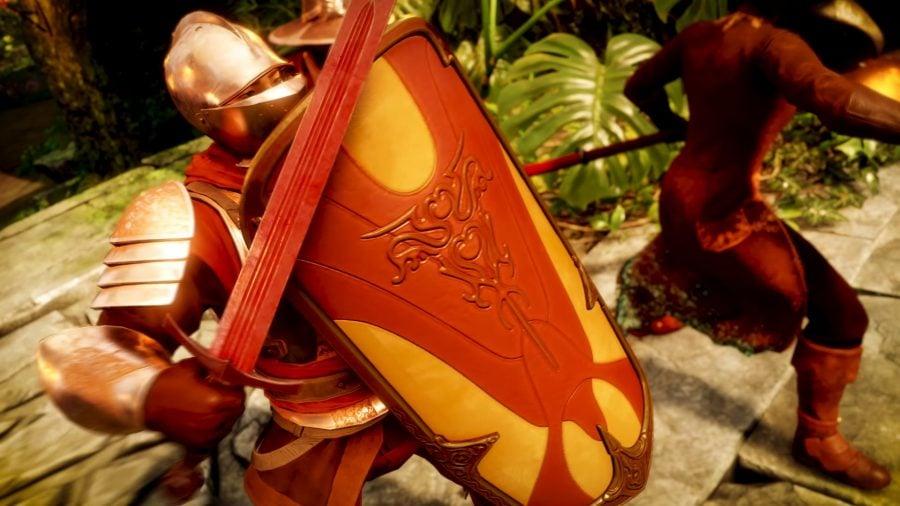 New World лучшее оружие Меч и Щит Sword and Shield